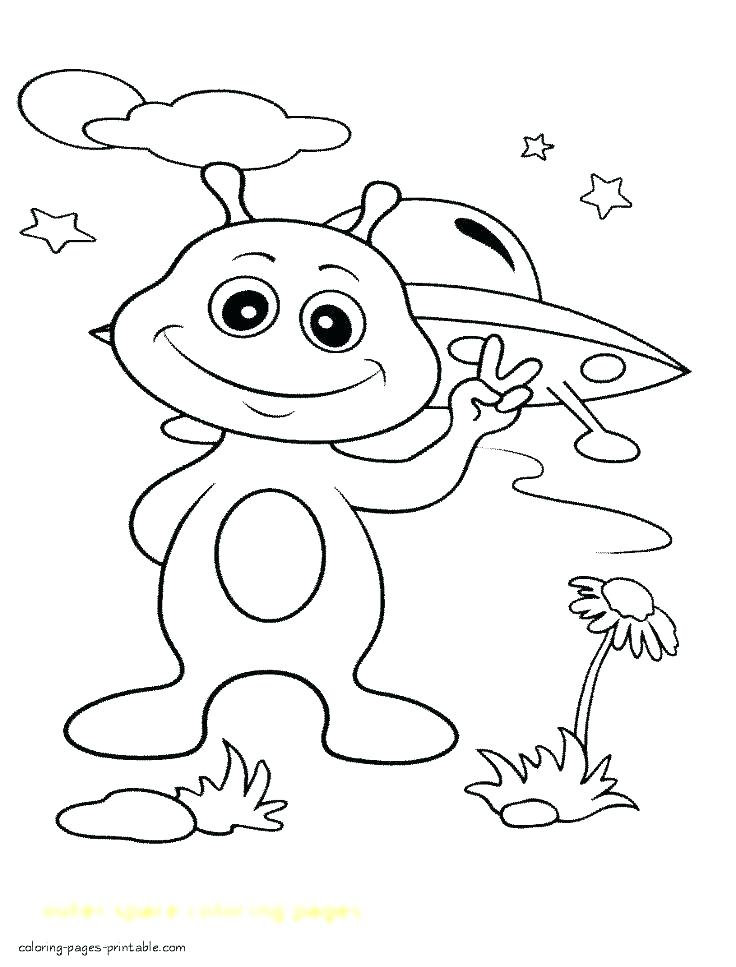736x967 Outer Space Coloring Page Deepart