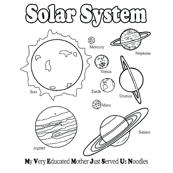 660x660 Outer Space Colouring Sheets Icontent