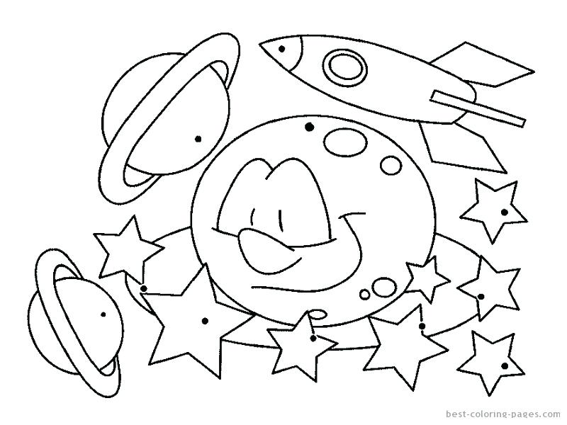 800x600 Free Space Ship Coloring Page Space Colouring Pages For Adults