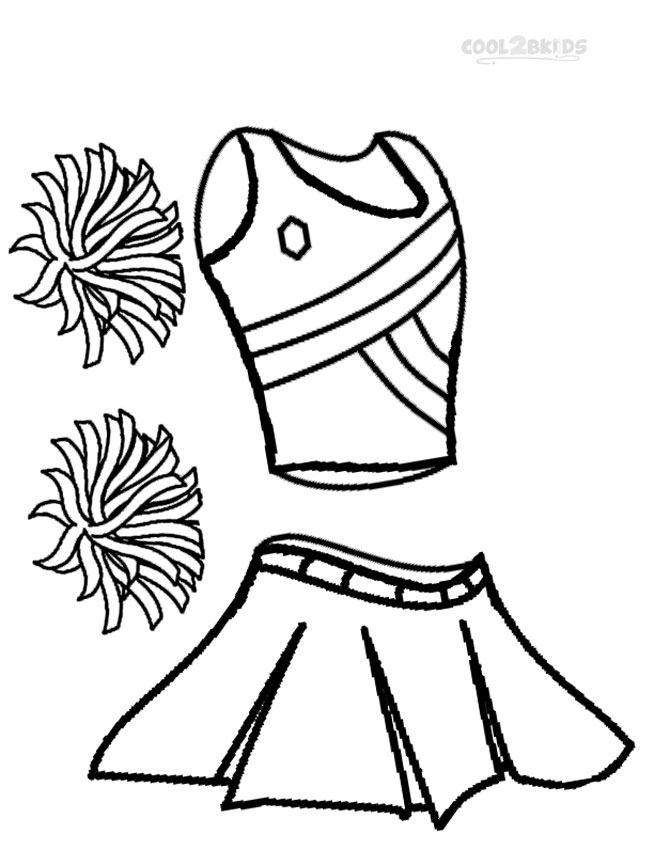 654x850 Printable Cheerleading Coloring Pages For Kids