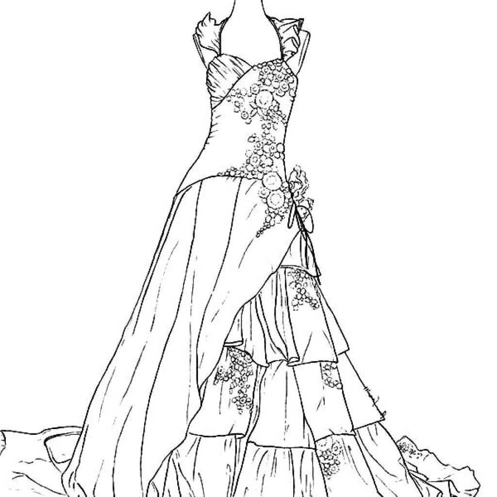 1024x1024 Free Printable Coloring Pages For Weddings