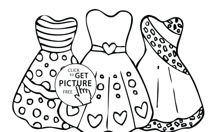 678x430 Pretty Dresses Coloring Pages Dresses Coloring Pages Dress