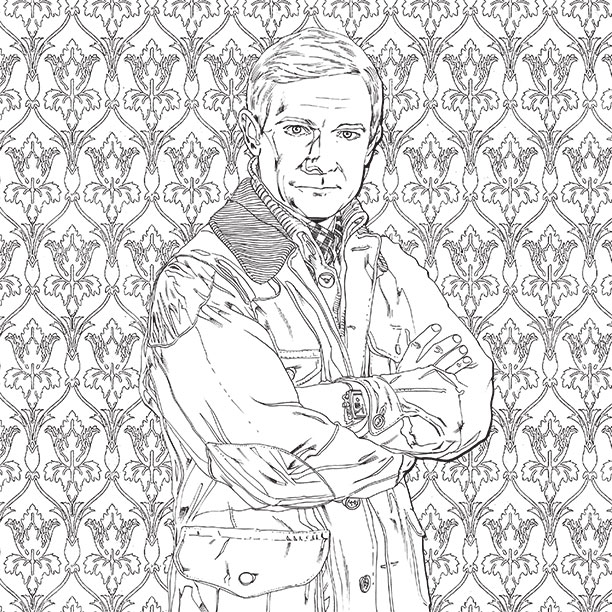 Outlander Coloring Pages