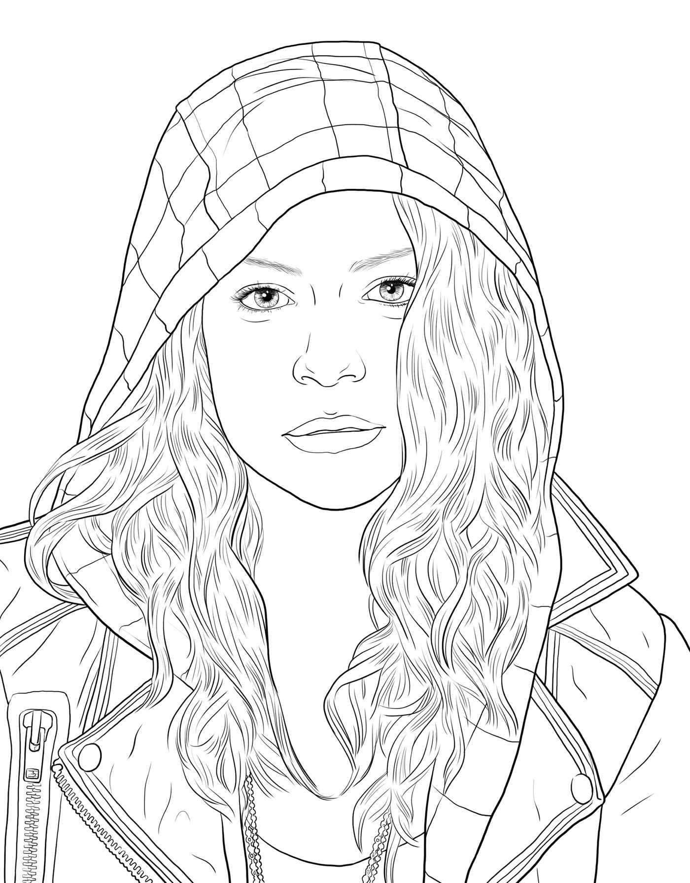 1400x1791 Orphan Black The Official Coloring Book Book