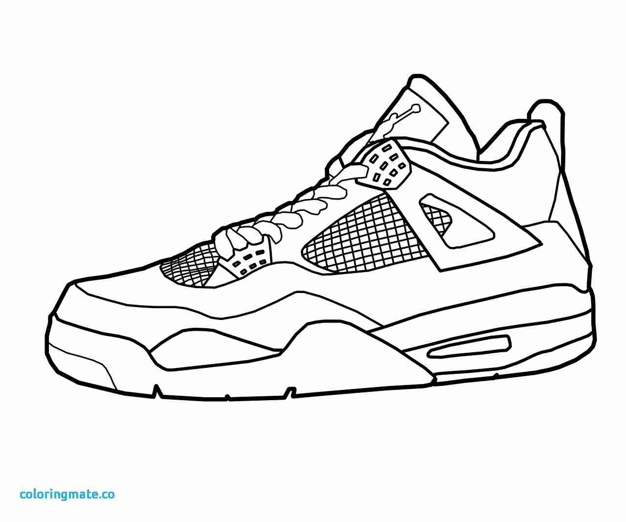 1280x1067 Shoe Coloring Page Best Of Free Nike Air Outline Pages Adorable