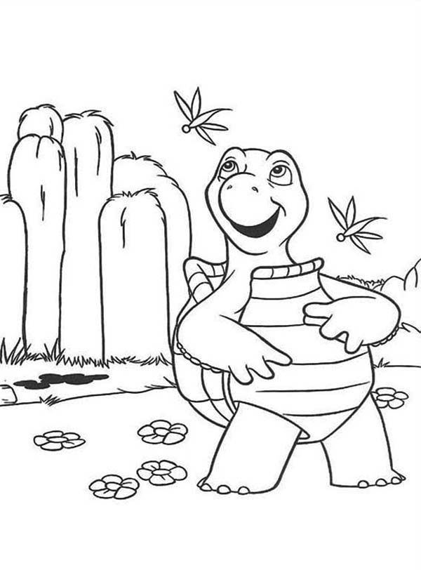 600x812 Verne The Turtle Over The Hedge Character Coloring Pages Verne