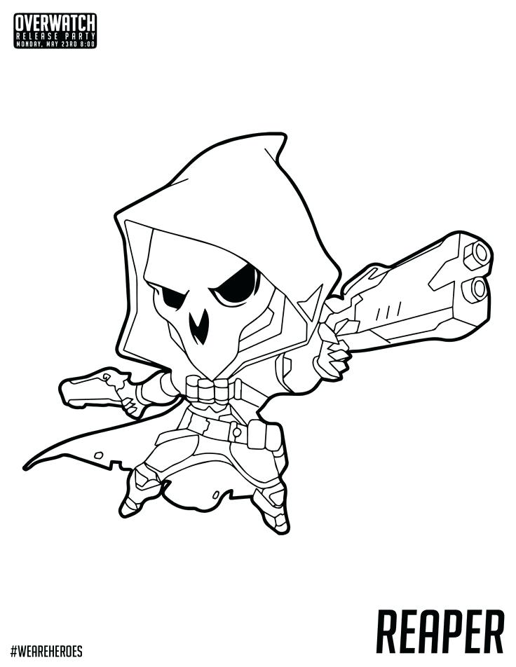 736x952 Overwatch Coloring Pages Pin Y Mas En Coloring Pages Barely