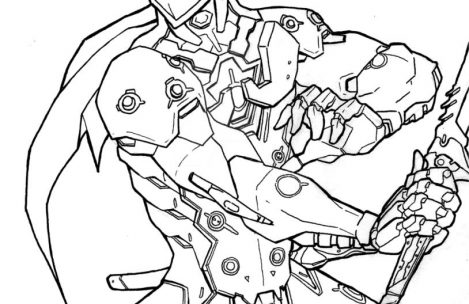 469x304 Overwatch Coloring Pages Just Colorings