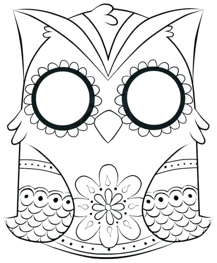 728x880 Coloring Pages Of Owls Coloring Page Owl Baby Owl Coloring Page
