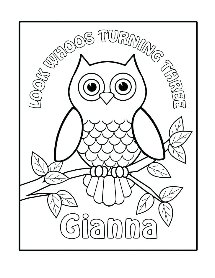 728x942 Owl Coloring Pages For Kids Amazing Printable Owl Coloring Pages