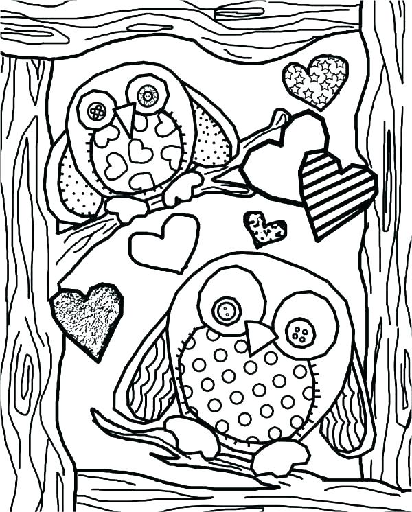 600x746 Owl Colouring Pages Owl Colouring Pages And Printable Card Owl