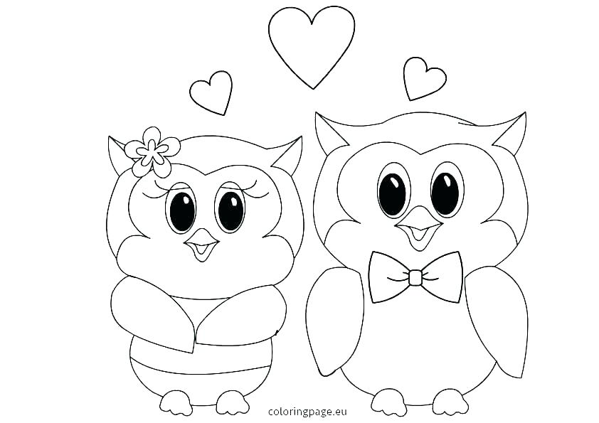 842x595 Owl Coloring Pages For Adults Free Printable Baby Page Col