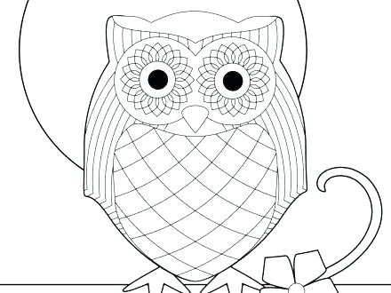 440x330 Snowy Owl Coloring Pages Printable Owl Free Printable Owl Coloring