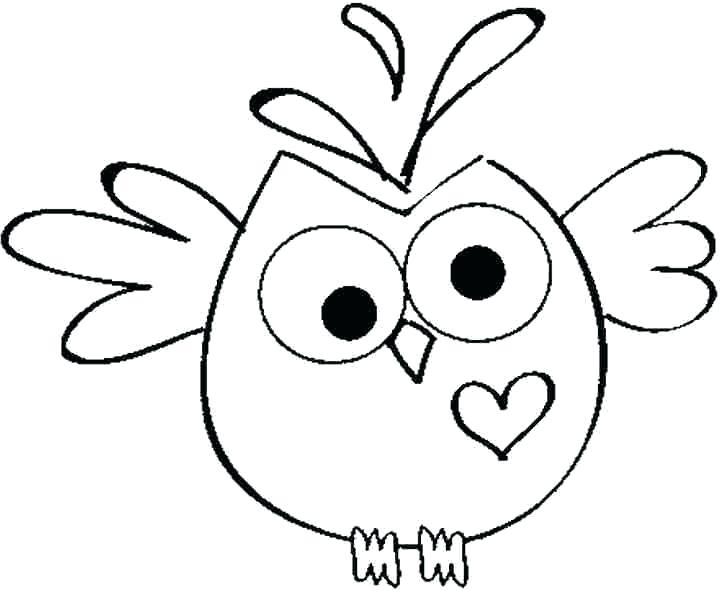 720x591 Owl Coloring Pages For Kids Free Printable Owl Coloring Pages Owl