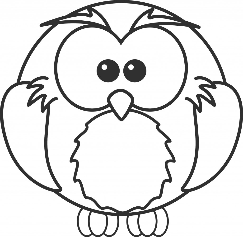 1024x999 Professional Free Printable Owl Coloring Pages For Kids Throughout