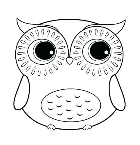 465x480 Best Free Printable Owl Coloring Pages For Kids Free Free