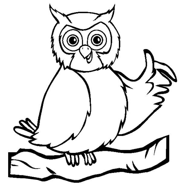 Owl Coloring Pages Preschool at GetDrawings.com | Free for ...