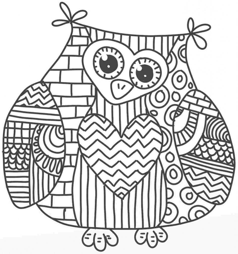 Owl Mandala Coloring Pages At Getdrawings Free Download
