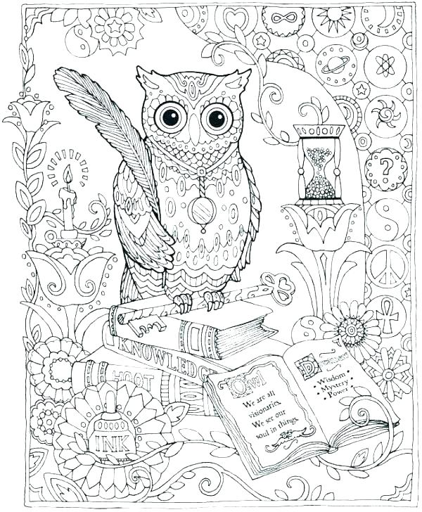 600x728 Coloring Pages Of Owls Pictures Of Owls To Print Free Owl Print