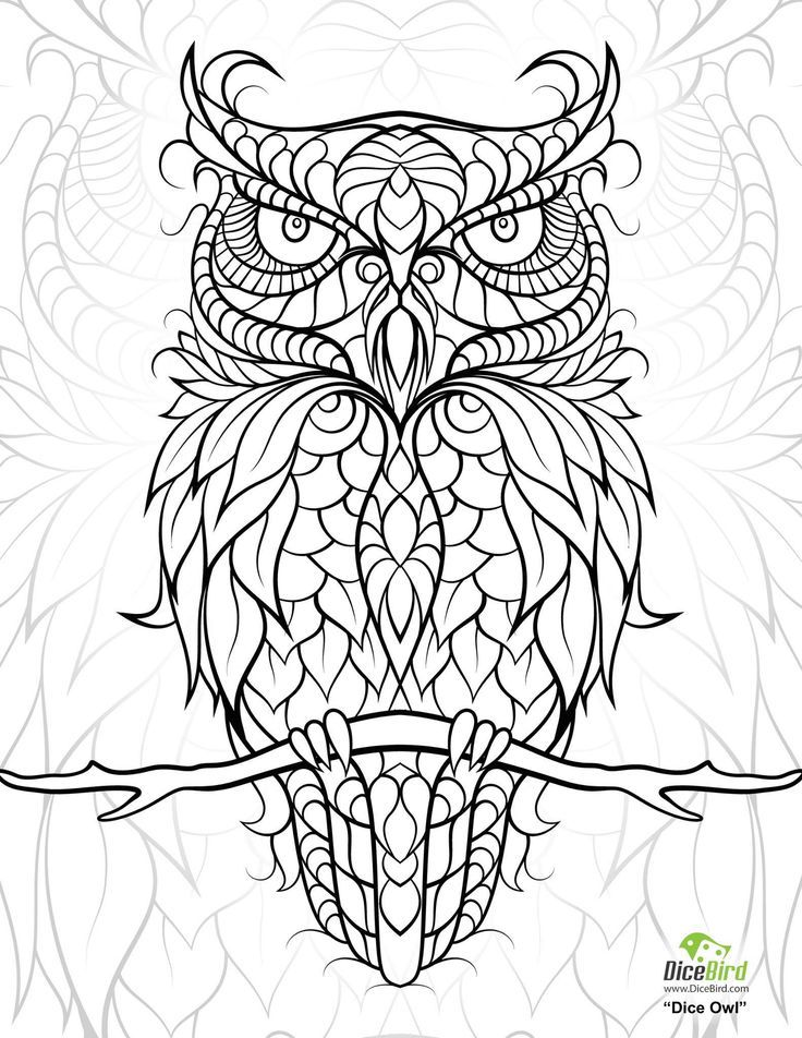 736x952 Free Printable Adult Coloring Books Pages For Personal Use