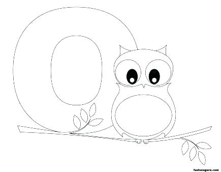 435x338 Owl Printable Coloring Pages
