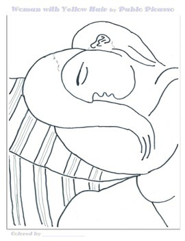 270x350 Pablo Picasso Coloring Pages
