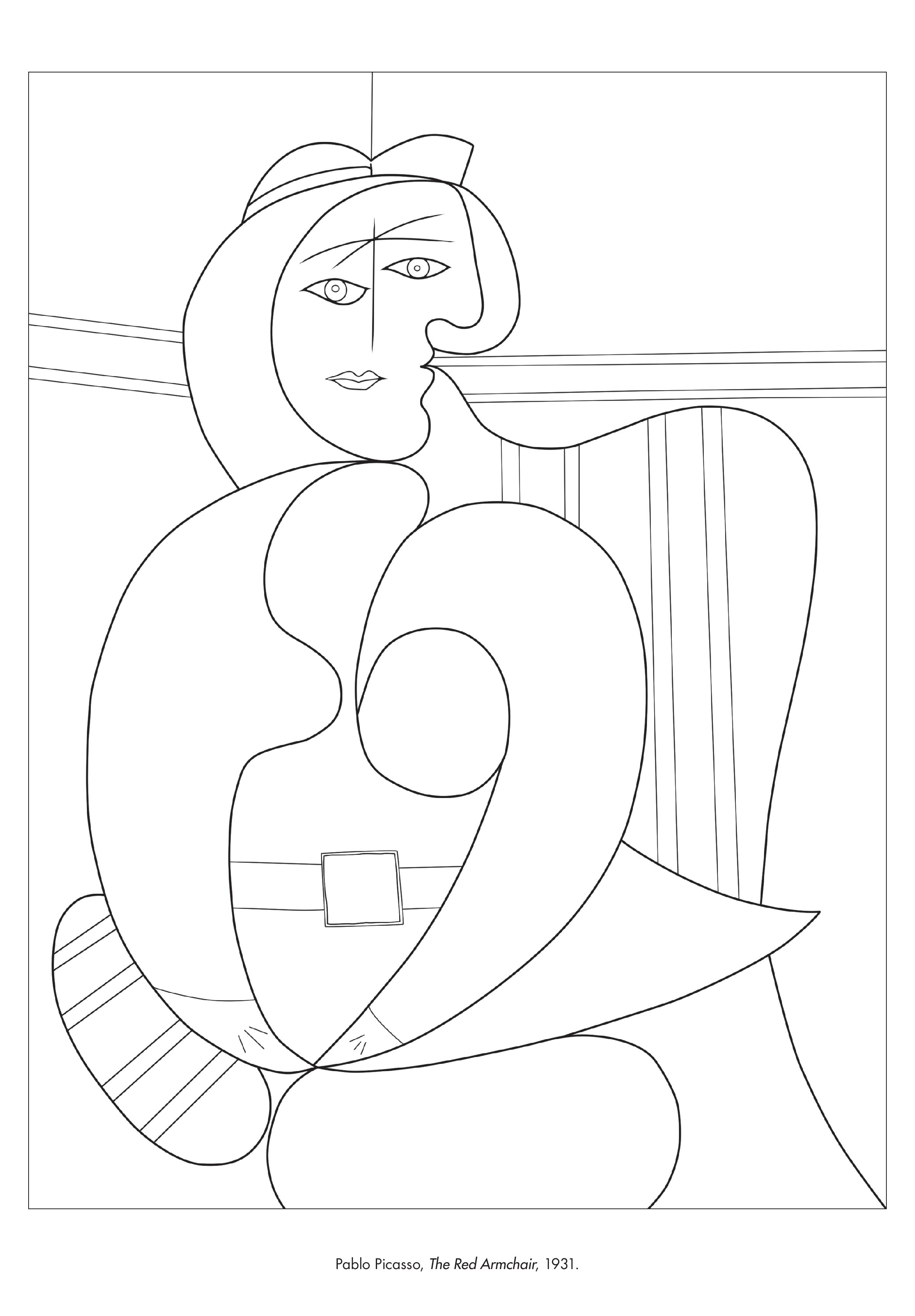 2400x3450 Coloring Printable Picasso Coloring Pages Together With Free