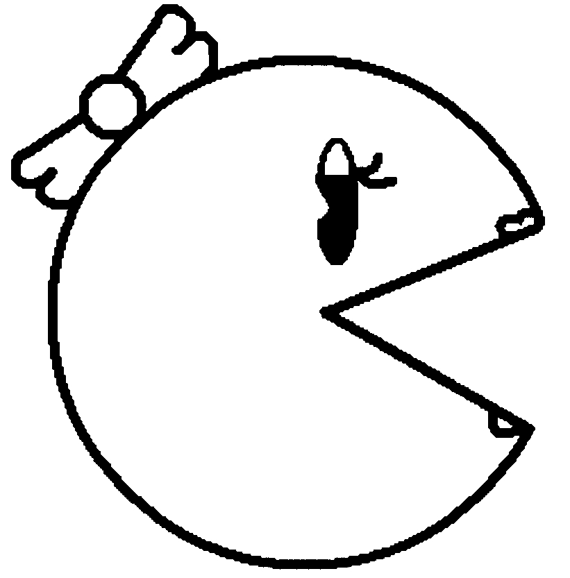 Pac Man Coloring Pages To Print