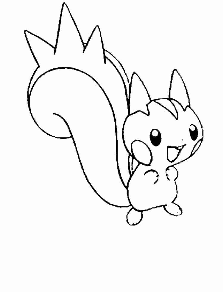 749x982 Pachirisu Is A Great Pokemon Coloring Pages Coloring Pages