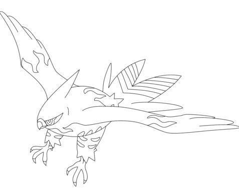 477x379 Pachirisu Pokemon Coloring Page