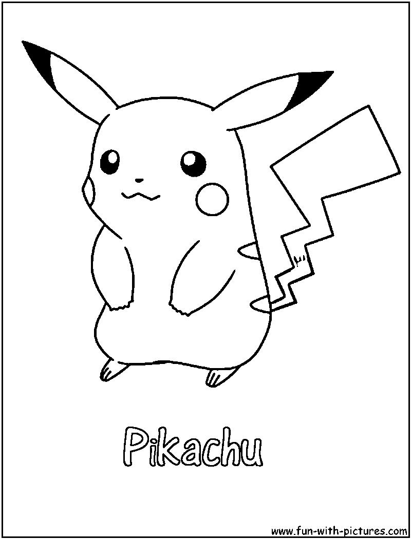 800x1050 Pikachu Coloring Page Pokemon Pokemon