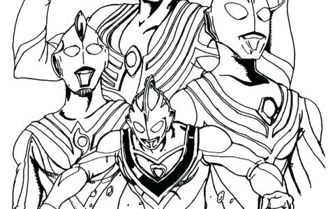 470x300 Ultraman Coloring Pages Ultraman Coloring Pages Pacific Rim