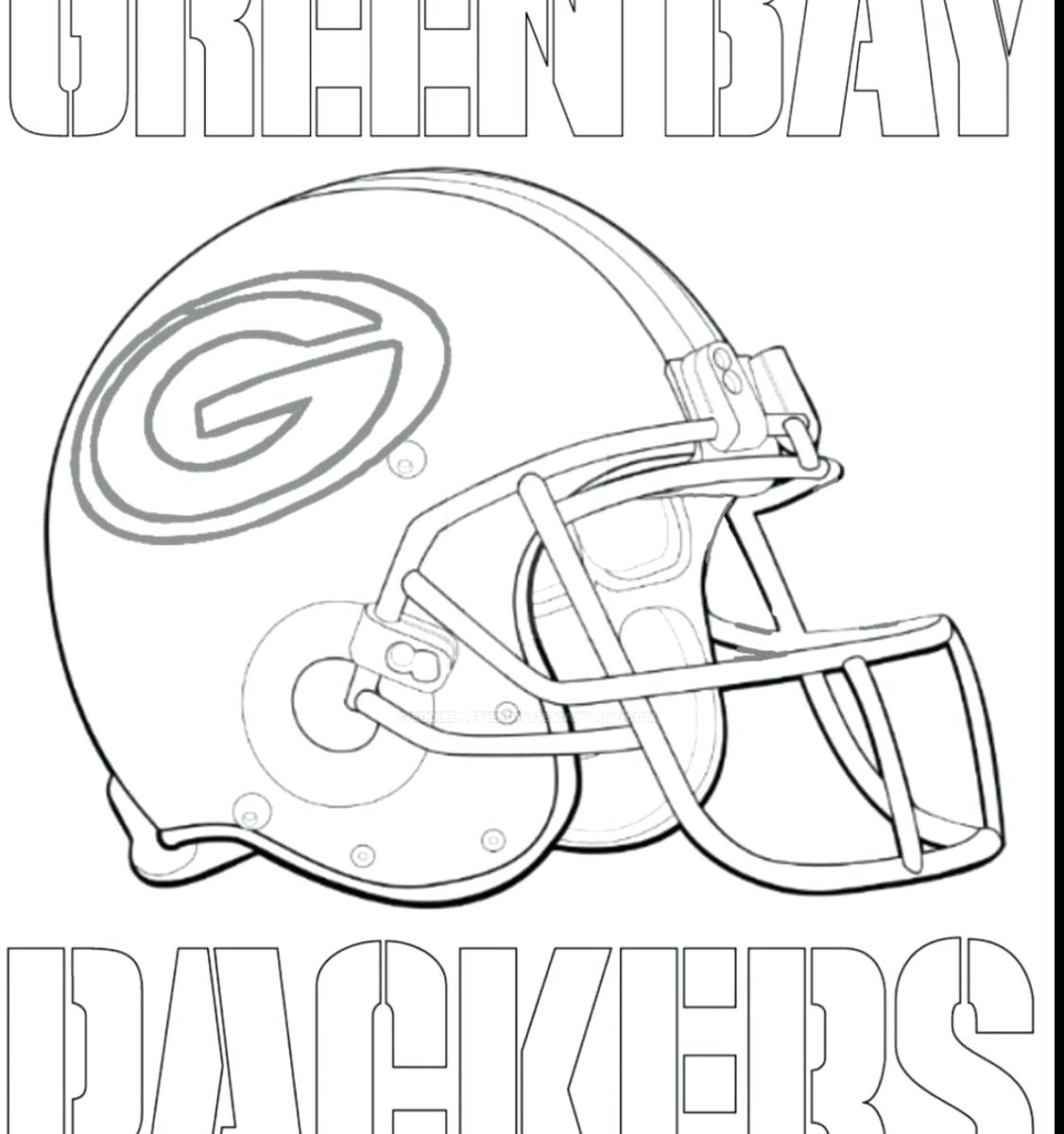 1126x1200 Green Bay Packer Coloring Pages Collection For Kids Packers