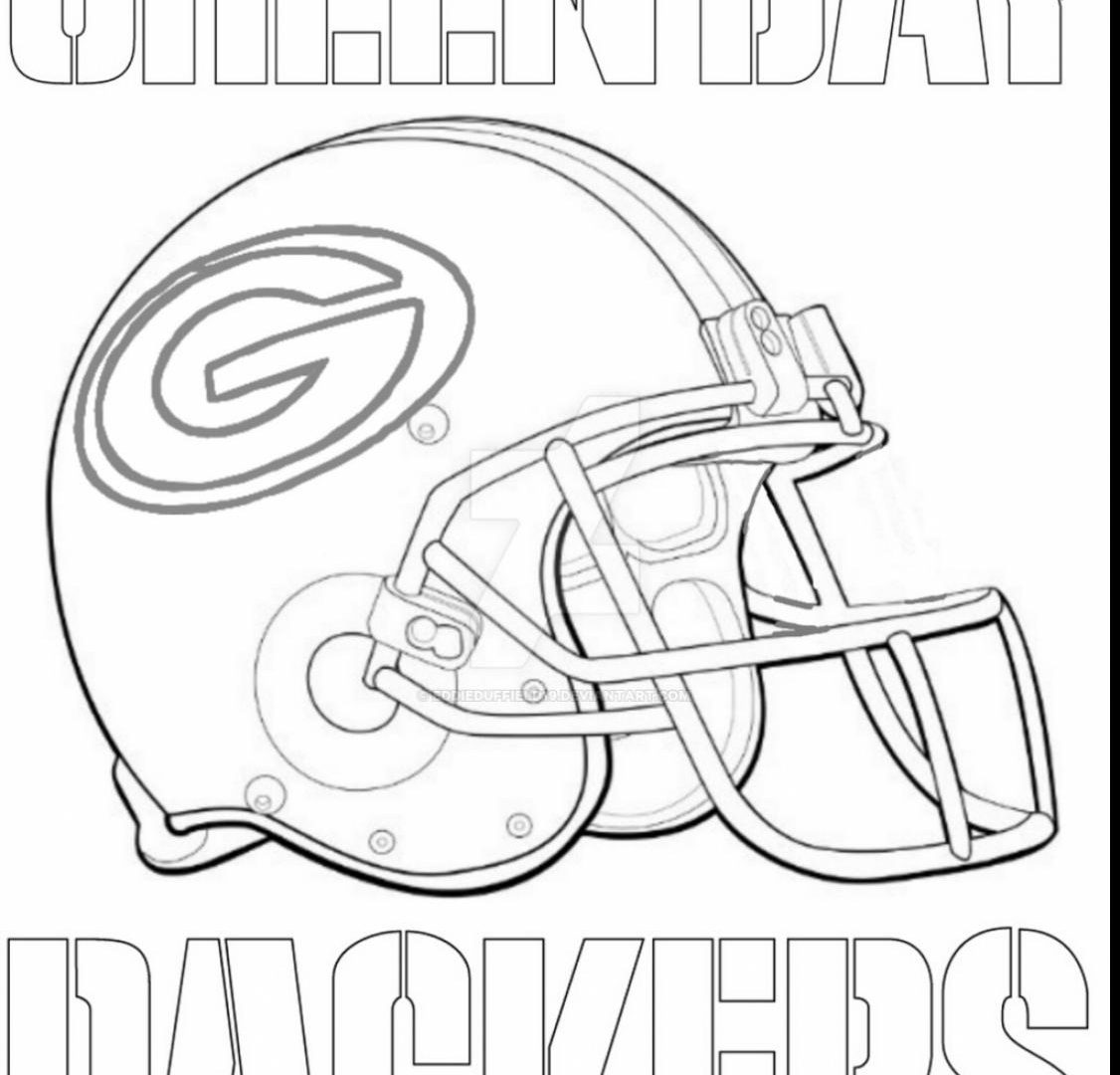 1126x1080 Nfl Green Bay Logos Coloring Pages To Download And Print Helmet