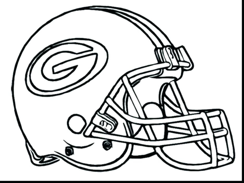 936x702 Broncos Helmet Coloring Page Broncos Coloring Pages Exciting Green