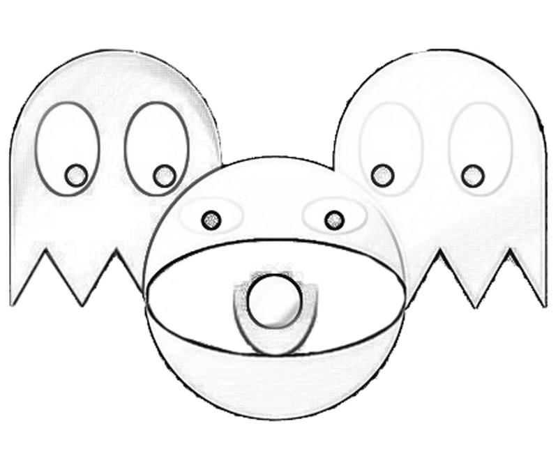 800x667 Pac Man Coloring Pages