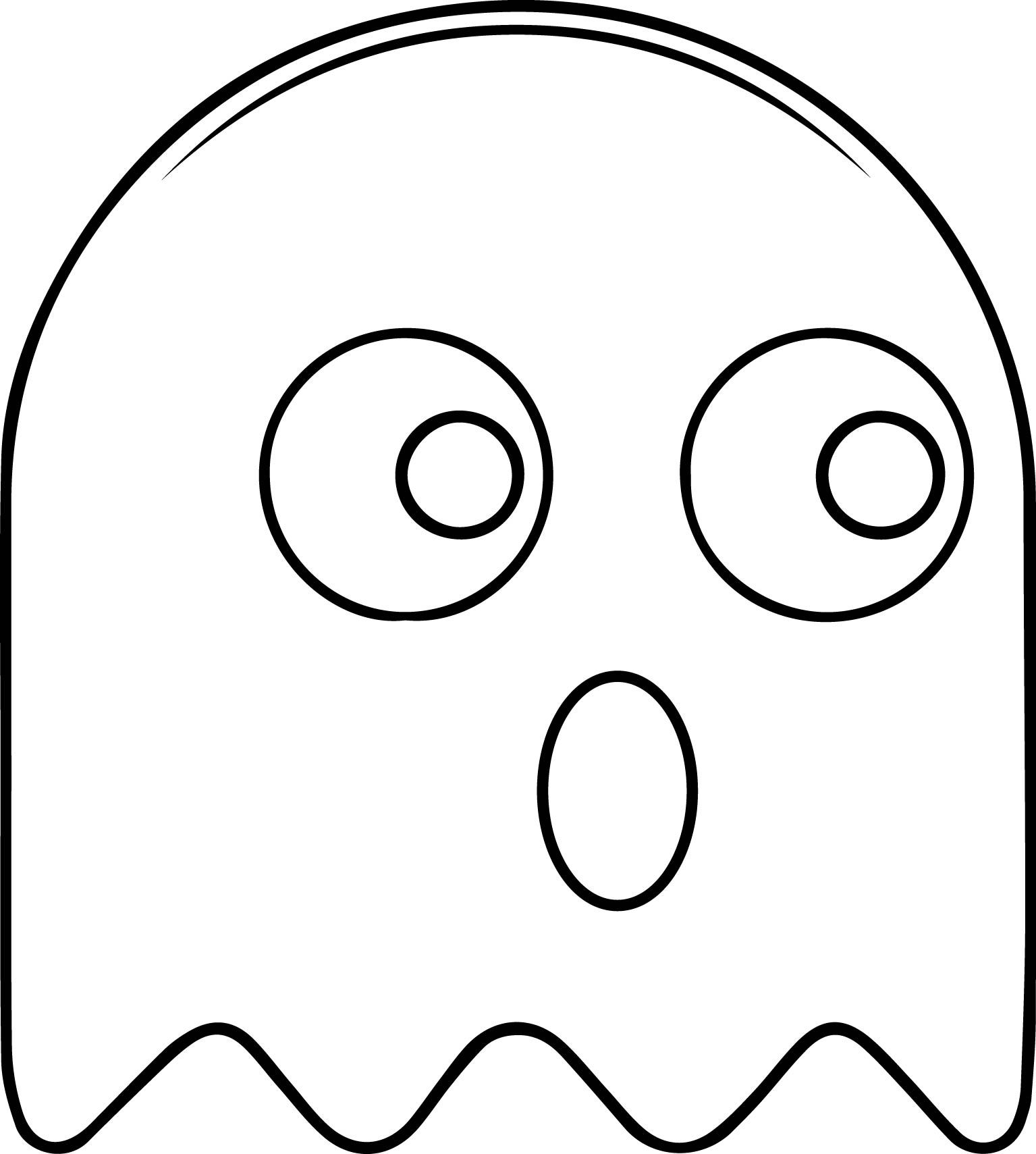 1535x1709 Top Pac Man Coloring Pages New With Page Free