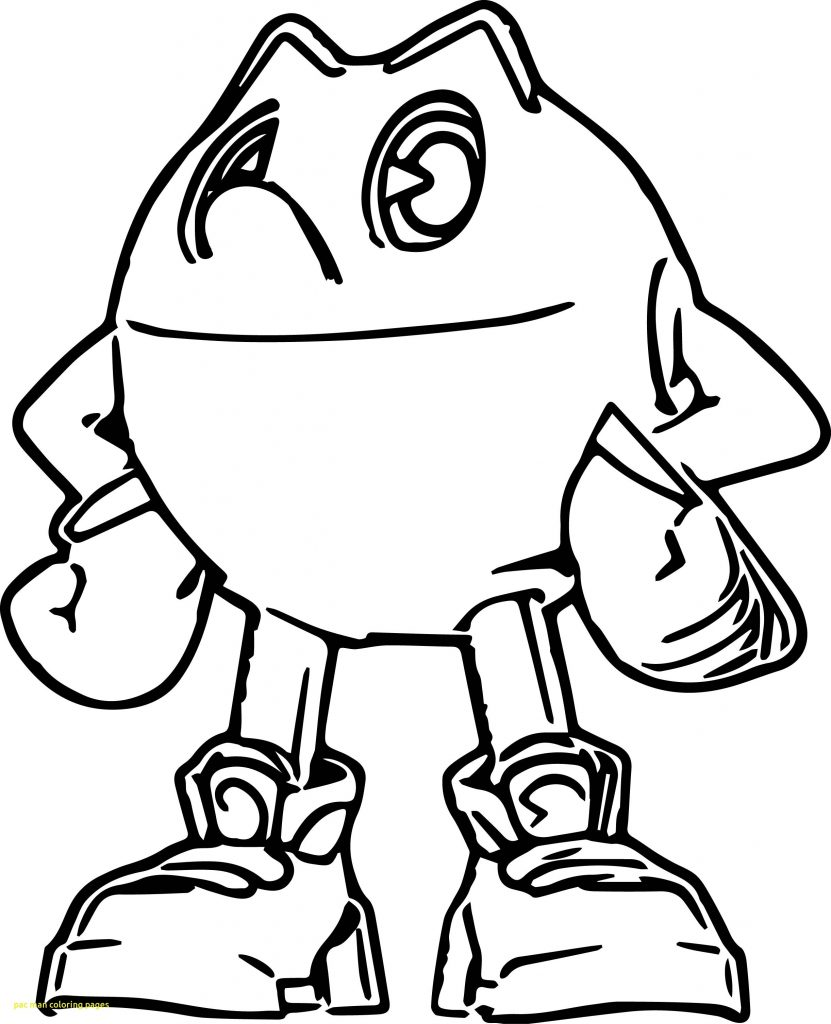 831x1024 Pacman Coloring Pages Pac Man Coloring Page Free Download