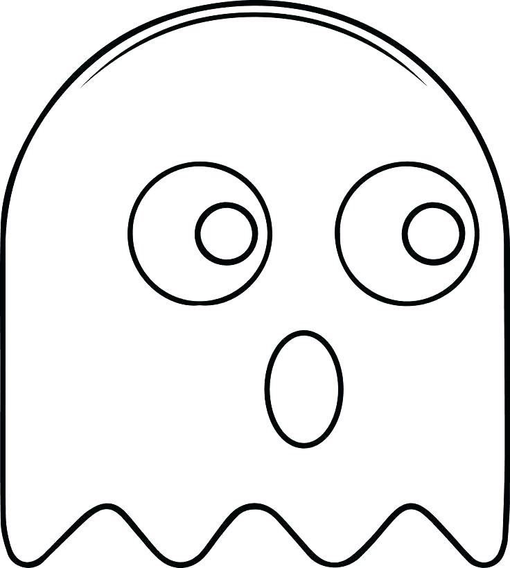 736x819 Pacman Coloring Page Big Man Coloring Page Man Pages Large Size