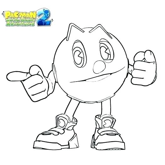 526x526 Pacman Pictures To Color Coloring Pages Coloring Pages Coloring