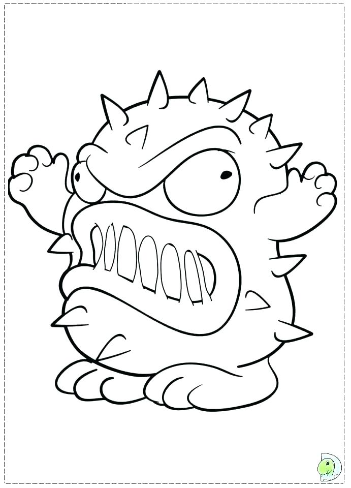691x960 Pacman Coloring Pages