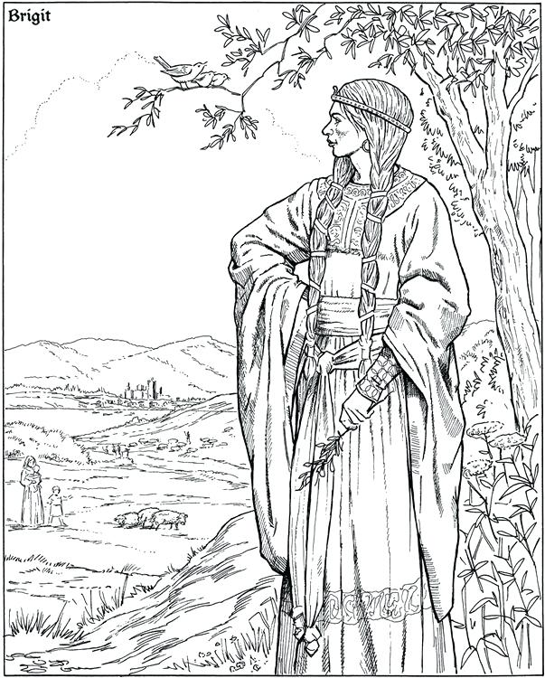 603x750 Appealing Pagan Coloring Pages Coloring Pages Open Run Color