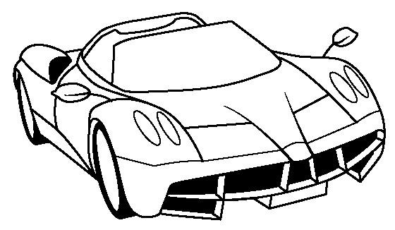 560x326 Ferrari Huayra Coloring Page