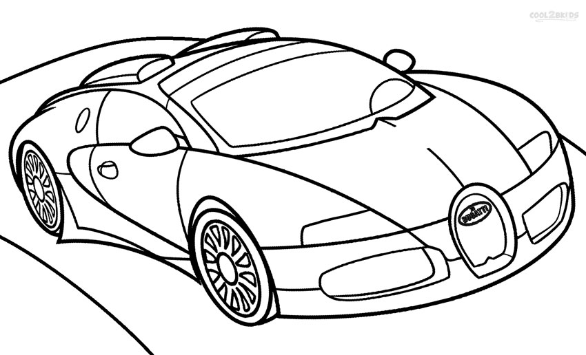 850x516 Bugatti Veyron Coloring Pages