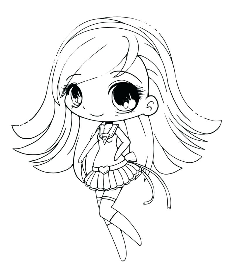 792x930 Anime Coloring Pages Chibi Anime Girl Coloring Pages Cute Chibi