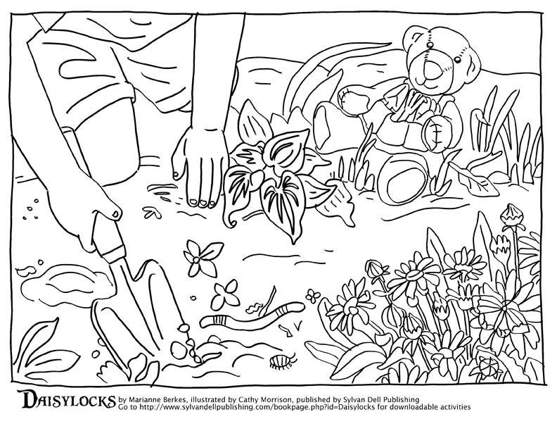 792x612 Soil Coloring Pages Worm Bath Coloring Page Ideas