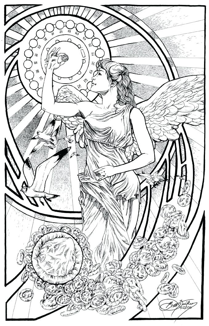 679x1056 Coloring Page N Coloring Books Adult Birth Affirmation