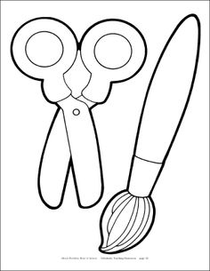 236x305 Top Paintbrush Coloring Pages