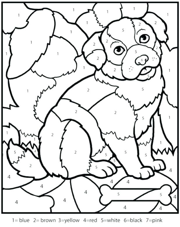 618x778 Source A Color Numbers Coloring Pages For Kids Free