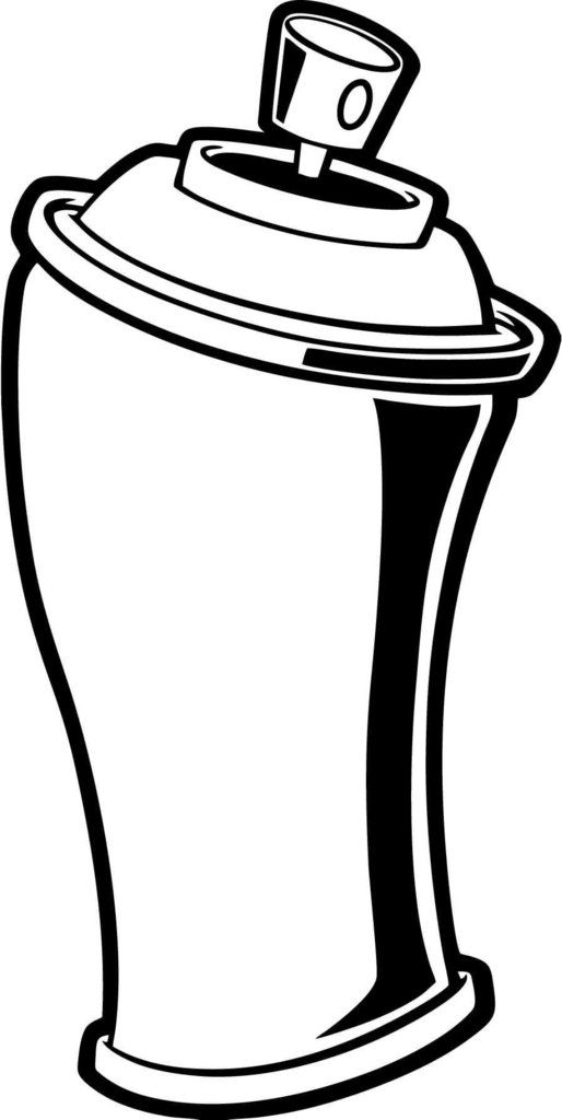 Paint Can Coloring Page